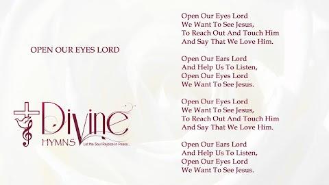 Open Our Eyes Lord Lyrics