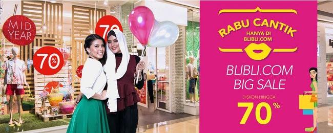 Promo Rabu Cantik di blibli.com | hellopita.com