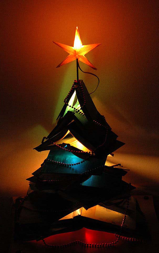 DIY Χριστουγεννιάτικα δέντρα (9)
