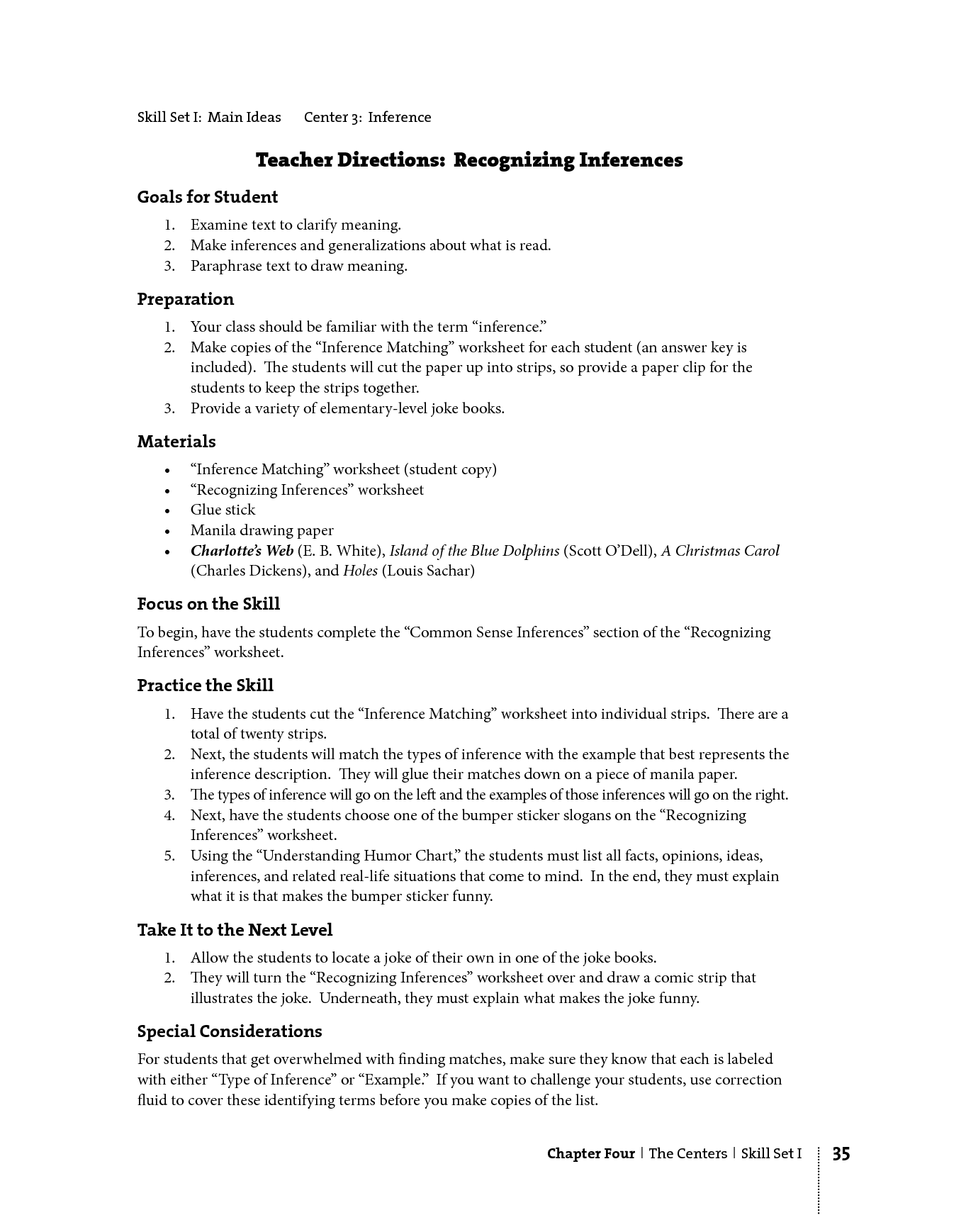 13 Best Images of Inferences Worksheets With Answers  Inference Worksheets 5th Grade, Printable