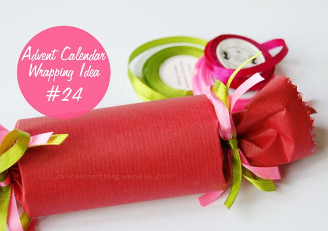 Advent Calendar Wrapping Idea #24