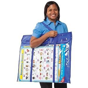 Deluxe Bulletin Board Storage Pocket Chart