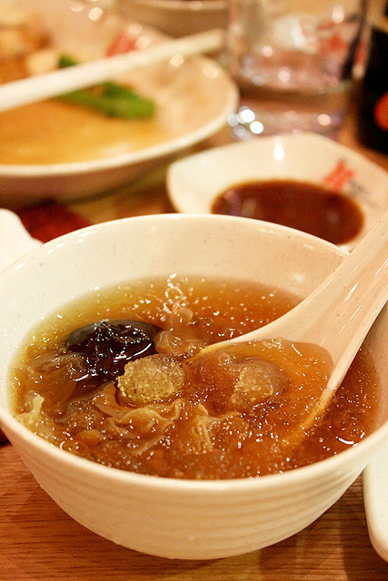 Double boiled Hasma with Silver Fungus