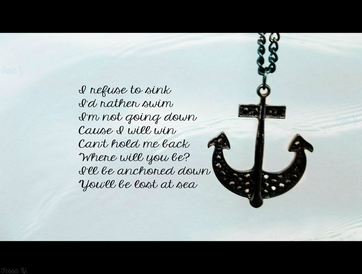 2 Quotes Anchor Tattoos On Tumblr