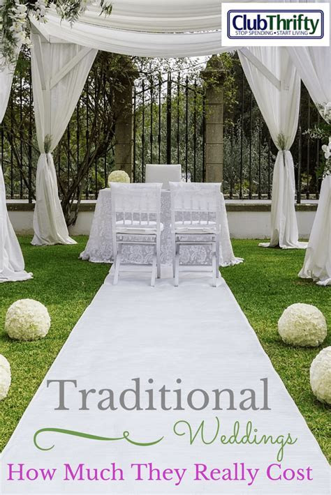 How Much it Really Costs to Throw a Traditional Wedding