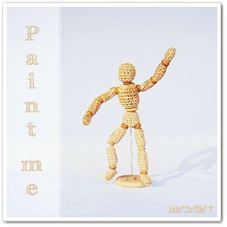 mannequin de dessin artiste peintre au crochet 1b