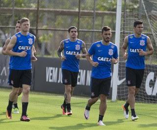 Jogadores Corinthians (Foto: Daniel Augusto Jr. / Agência Corinthians)