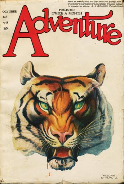 Adventure, October 3, 1918