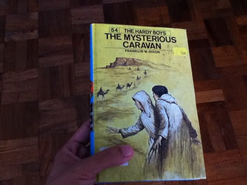 Hardy Boys: The Mysterious Caravan by Franklin W. Dixon