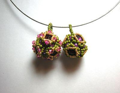 Pattern/Anleitung Bling Pimp Beaded Bead