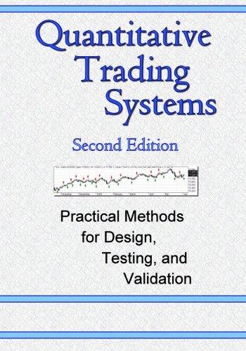 Quantitative trading systems howard bandy