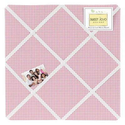 Toile Gingham Memo Board