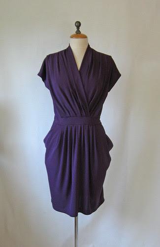 Purple dress on form1