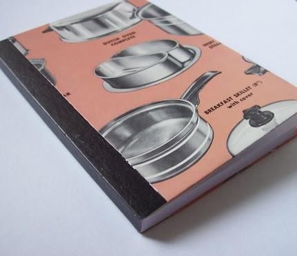 Vintage Cookware Mini Journal