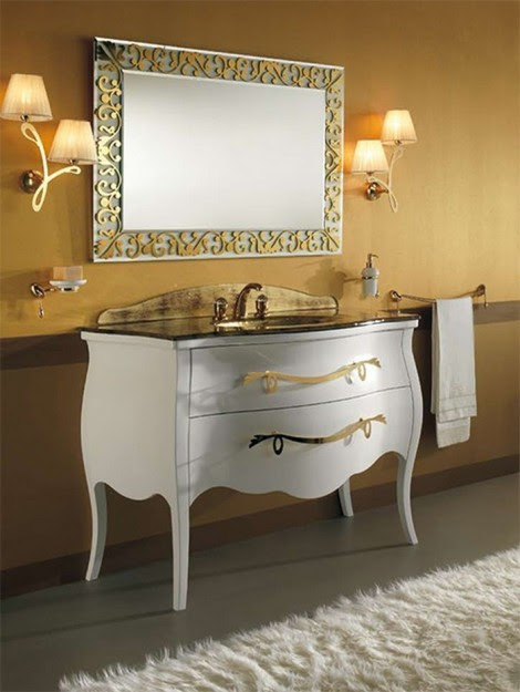 Luxury bathroom Cabinet Pictures