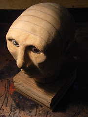 Automaton head with base
