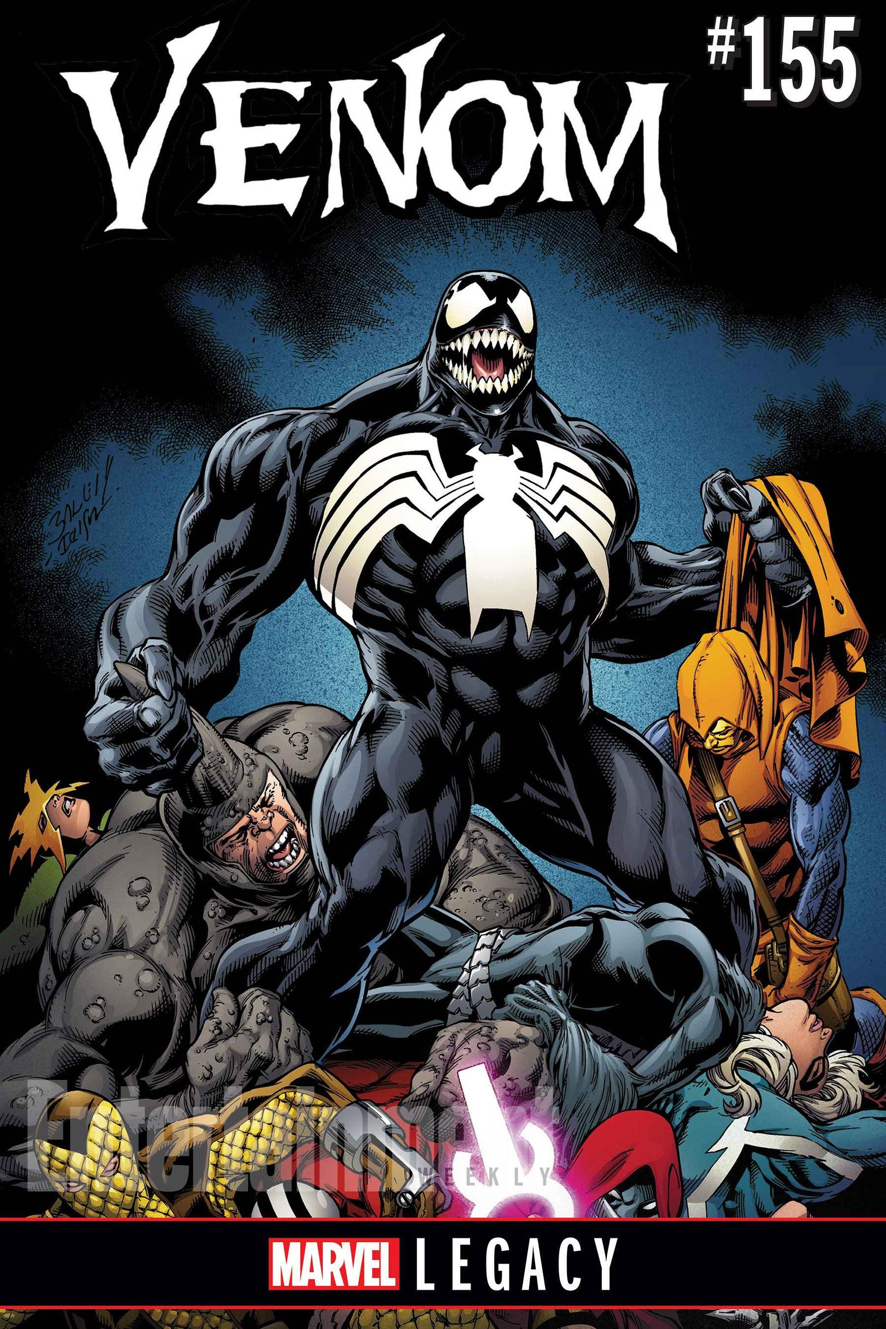 Venom En Dibujos Animados