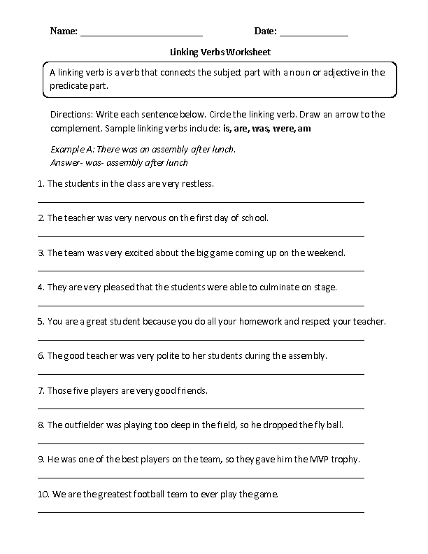 28 Helping Verbs Worksheet 3rd Grade - Worksheet Project List