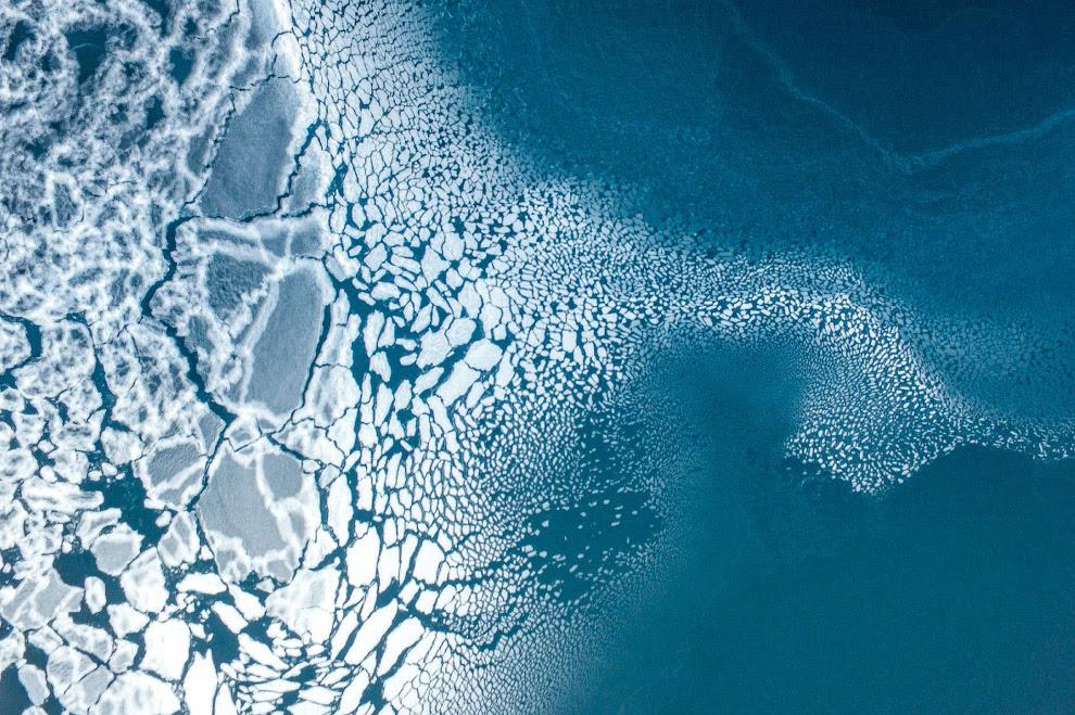 Третє місце в категорії «Природа».  Освіта льоду