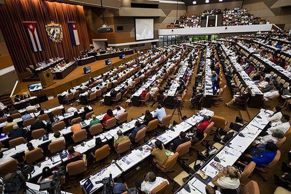 Parlamento cubano debatió sobre temas claves para la economía en el venidero año. Foto: Irene Pérez/ Cubadebate.