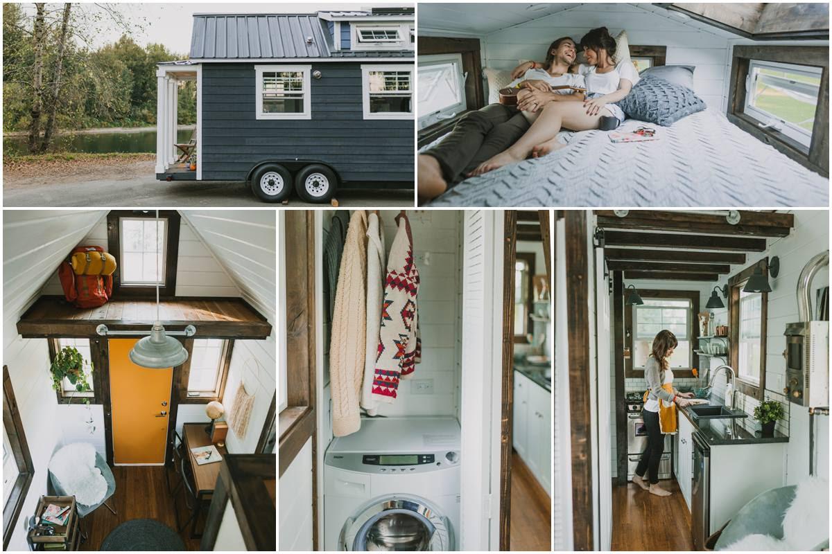 Casas de madera prefabricadas minicasas portatiles - Mini casas de madera ...