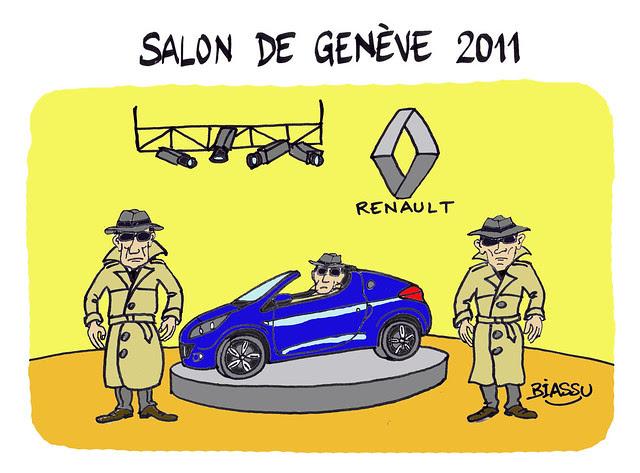 Renault au Salon de Genève