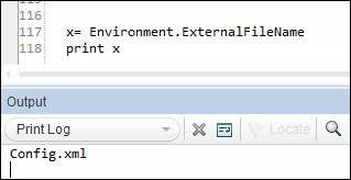 User Defined Internal Environment Variables