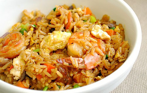 Indonesian Shrimp Fried Rice