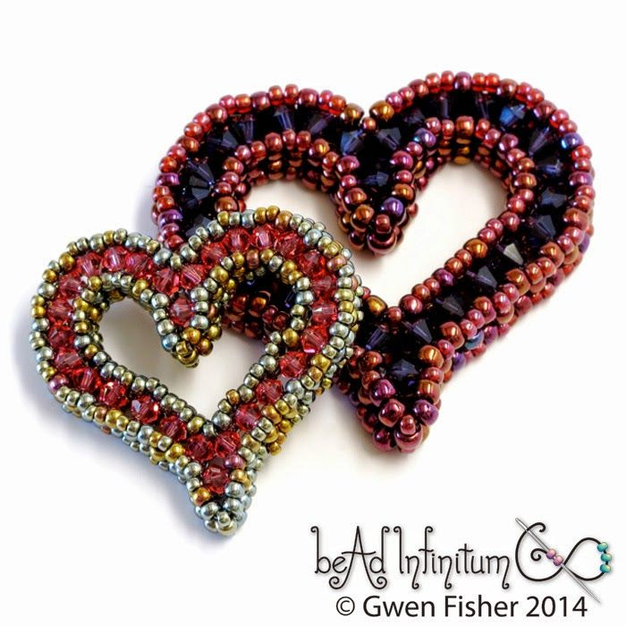 Beaded Sweetheart Pendant