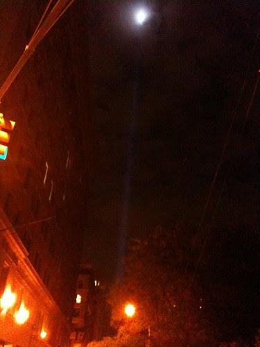 9/11 memorial lights