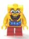 Minifig No: bob036  Name: SpongeBob - Blue Lei (3818)