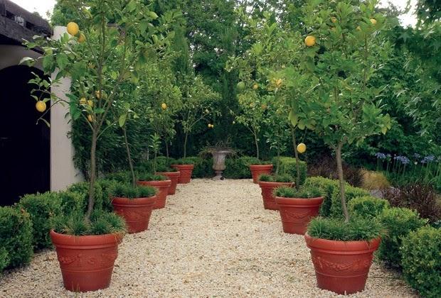 Arquitectura paisajista un jard n con aire cl sico - Decoracion en jardines ...
