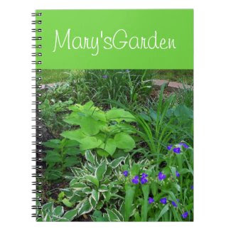 Garden Guide Notebook Spiral Notebook