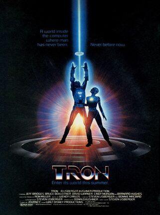 Tron original poster