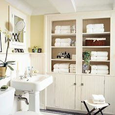 Store More in Your Bath Ideas on Pinterest