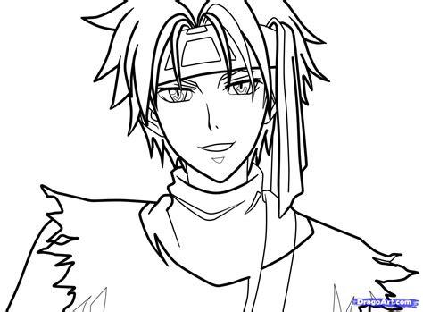 draw  anime character usui tumaki step  step