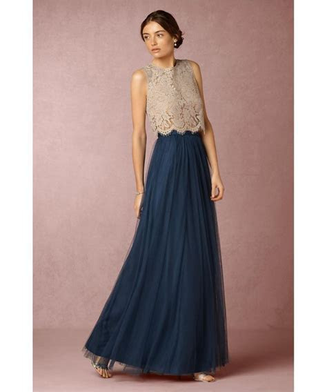 Aliexpress.com : Buy Navy Bridesmaid Dresses Two Pieces