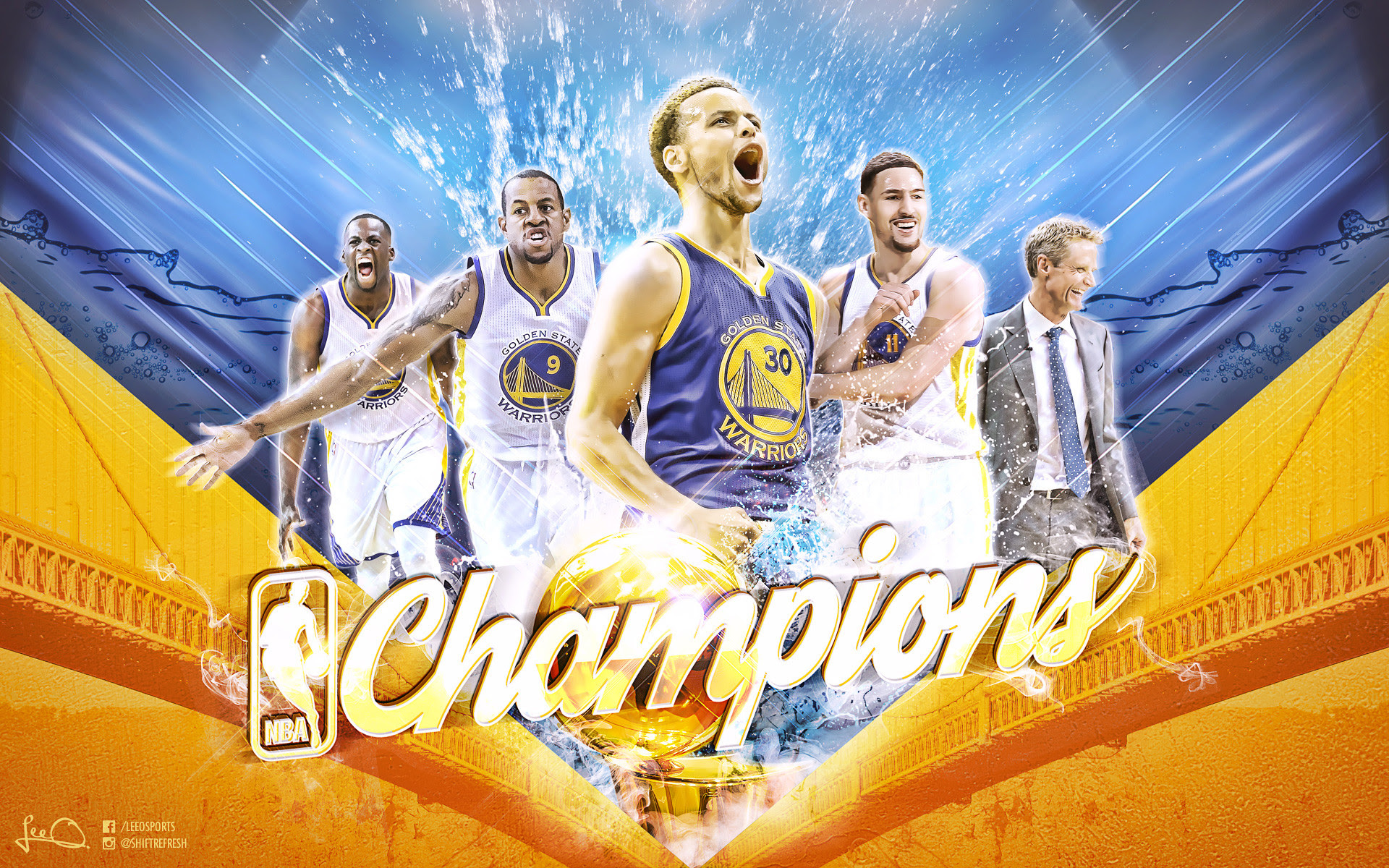 Golden State Warriors Champions Wallpapers 79 Images