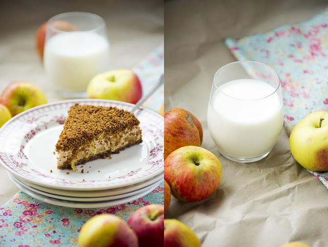 Leiva-kohupiima-õunakook