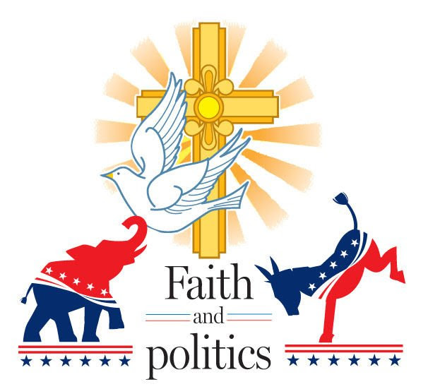 Image result for faith in politics graphic