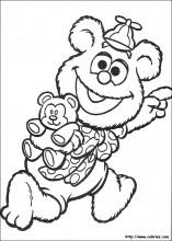 Muppets babies coloring pages