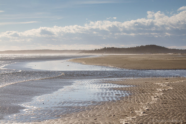 on Popham Beach