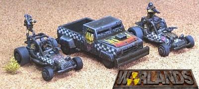 Warlands - Post Apocalyptic Vehicular Combat
