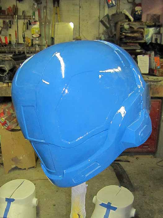 EVA Helmet Almost Done