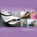 Women's wide size fashion shoes