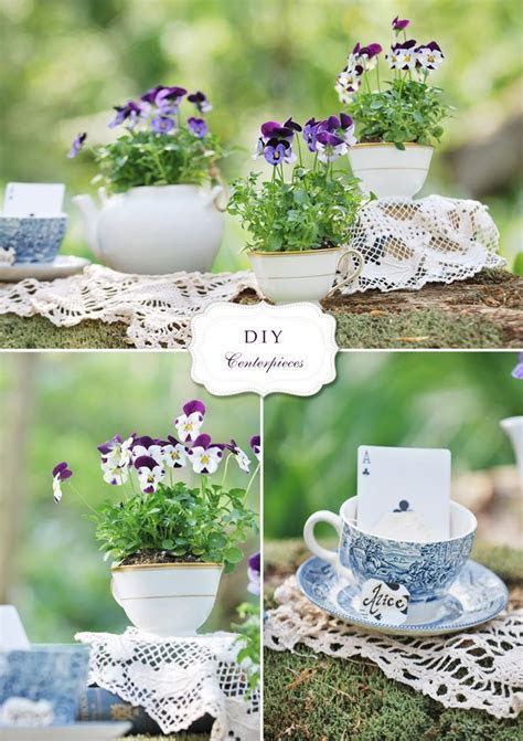 25  best ideas about Teacup centerpieces on Pinterest