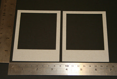 Polariod Frames (unit of 3)