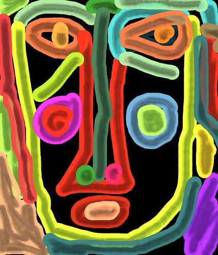 lip stroke by Donna Kuhn