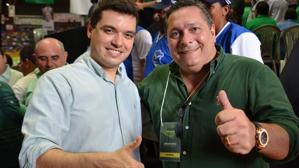 Walter Alves e Ezequiel Ferreira