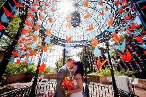 Stringing 1000 Paper Cranes   Project Wedding
